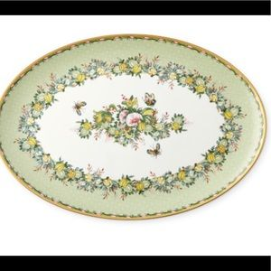 Williams Sonoma NWT famille oval platter green